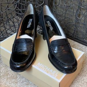 Michael Kors heeled loafers